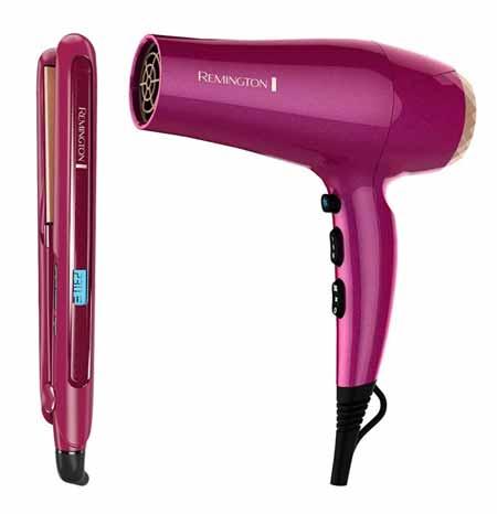 secadora y plancha para el cabello